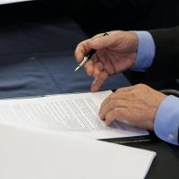 Uroczyste parafowanie umowy o dofinansowanie POIR